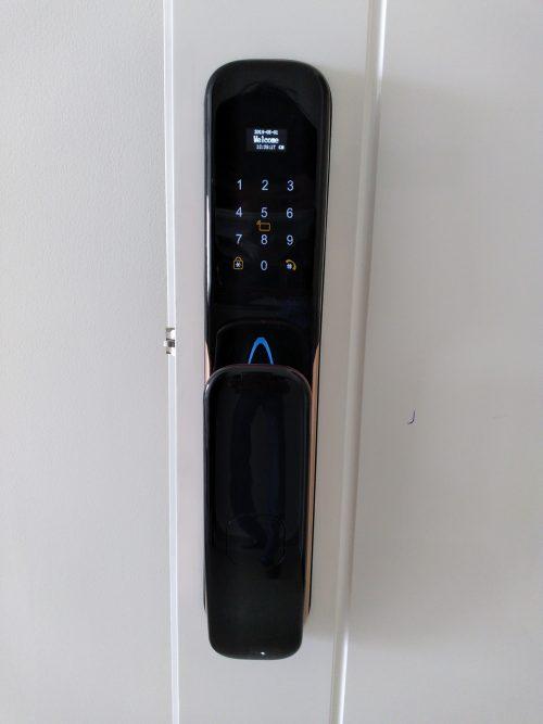 Khoá HomeKit AB-14 khóa vân tay điều khiển qua app điện thoại 5 tính năng