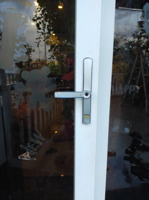 Khoá HomeKit AB-16A khóa vân tay 2 chiều điều khiển qua app điện thoại 4 tính năng