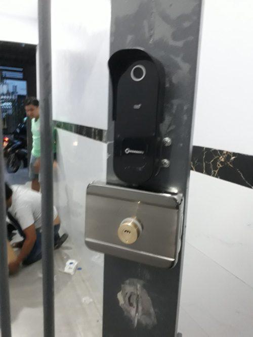 Khóa AB-18B khóa cửa cổng 2 chiều với 5 tính năng